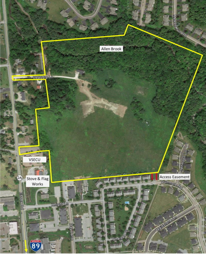 Prime Commercial Land – Route 2A